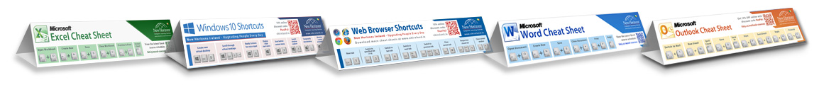 Free download our cheat sheets