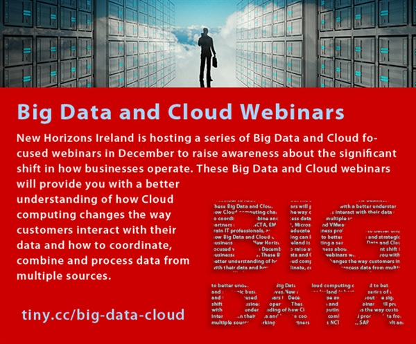 Big Data and Cloud Focused Complimentary Webinars