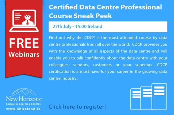 Certified Data Centre Professional - Course Sneak Peek