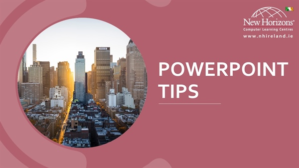 New PowerPoint Features and Presenting Tips