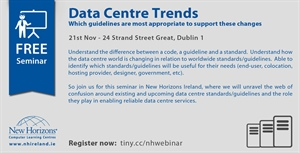 Seminar: Data Centre trends and guidelines to support these changes