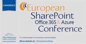 European SharePoint Office 365 and Azure Conference - Dublin