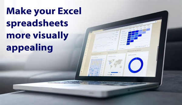 How to make your spreadsheets more visually appealing