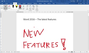 Word 2016 new features to help you on a daily basis