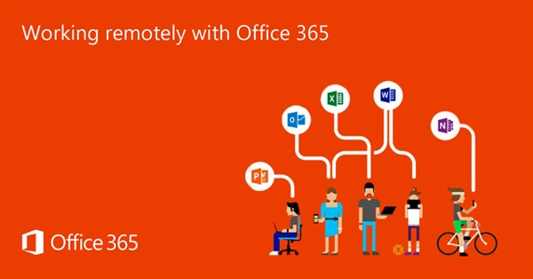 Working remotely with Office 365