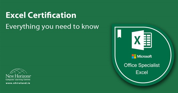 Becoming Certified in Excel - What you need to know