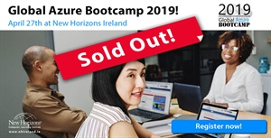 Global Azure Bootcamp 2019 - Dublin - SOLD OUT