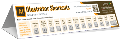 Illustrator Keyboard Short-cuts Cheat Sheet