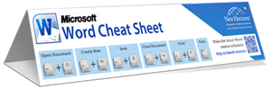 Microsoft Word Keyboard Shortcut Cheat Sheet