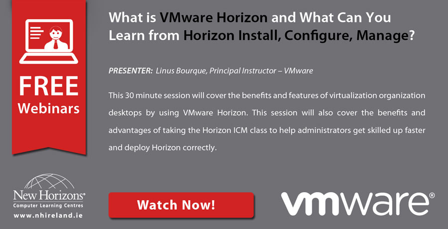 VMware Horizon webinar on demand