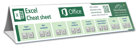 Cheat-sheet-PREVIEW-Excel2018